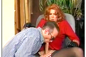 Candy B Vintage Tgirl sucks knob and bonks her paramour