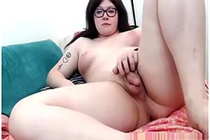 Lilithmaries – fat Nerd shemale Cumming