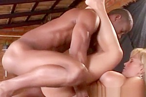 Busty brazilian tgirl drilled with cock