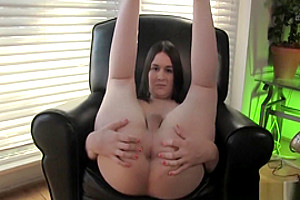 Bigass Trans Strokes Her Hard Cock