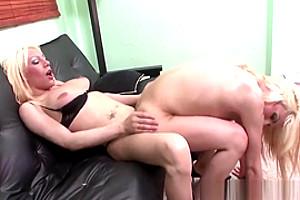 Ass Plowed Tranny Creamed
