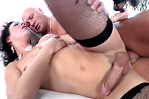 Big Dick Shemale Rides On Top