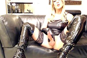 Hot Smoking Big Cock Blonde Melissa Glamour Perfect Cumshot