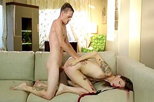 Trans Freya Wynn Gets Her Cute Ass Penetrated Hard By Chad Diamond