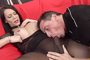 Nylons And Feet Make Him Go lusty