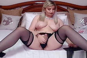 Hottest blonde shemale Great web camera Show