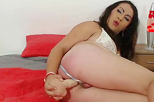 tgirl shelady hooker Toying Her wazoo