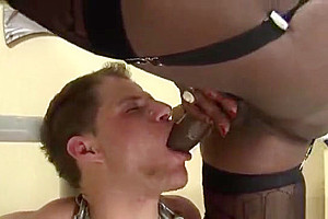 darksome lady-man large cock Domination HQ