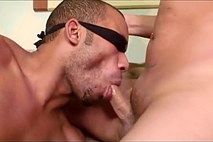 Blindfolded lad Sucks penis And receives His ass pounded By tranny