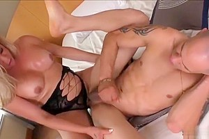 Plump assed transgirl Camilla Carvalho gets a deep anal fuck