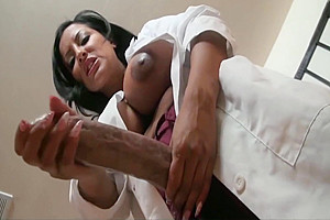 Kiara Grows a Cock and Pumps Out Her Own Sperm