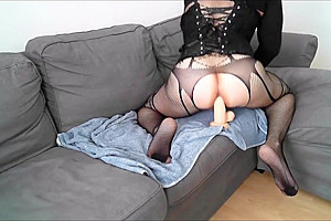 Sissy Slut Lucy Dildo Ass Fuck