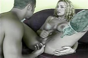 lovely anal MILF tgirl Joyce Sant Laurent TanLines