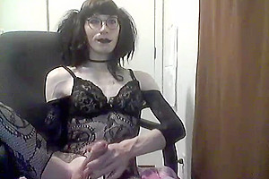 Tempting ladyboy In lingerie yummy Solo
