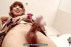Yuki Momohi Strokes For You - TGirlJapan