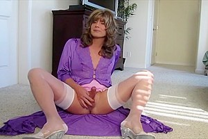 Crossdresser In Hot Lingerie