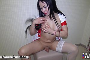 Naughty Nurse Gabriel Boeva - Russian-TGirls