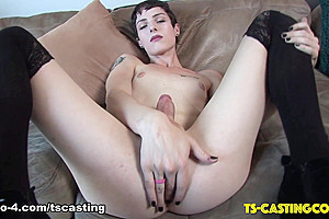 Stunning Carrie Emberlyn Makes Her Case - TS-Casting-Couch