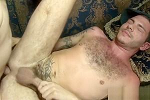 Huge boobs blonde TS Jesse fucked dude