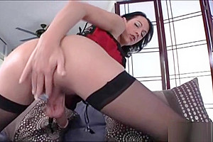 can milf gags hard dildo rides pussy hard till cum join told all