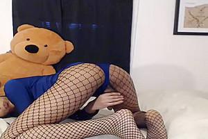 Melody Monae messy Talker Masturbating On Camera