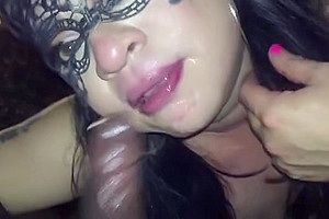 sissy pleasuring and fucked by BBC
