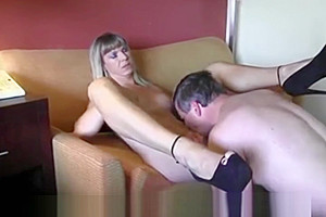 Old boss with her tranny secretary