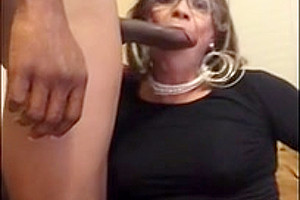 mature sissy gets bred by BBC daddy