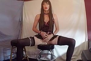 Working my sissy hole.