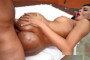 Brenda Arceo Big Ass Shemale Fucked and Booty Licked