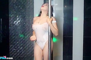 Very Hot TS Filipina Striptease Easter Special