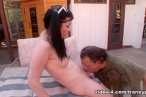 Jay Ashley, Aly Sinclair in Transsexual Babysitters #17