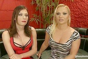 TSPH debuts HOT NEW DOM EVA CASSINI Hard cock topping of Katja Kassin