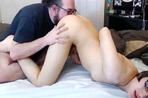 college girl tranny gets hot rimjob from sugar daddy