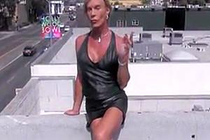 sexy leather slut in LA